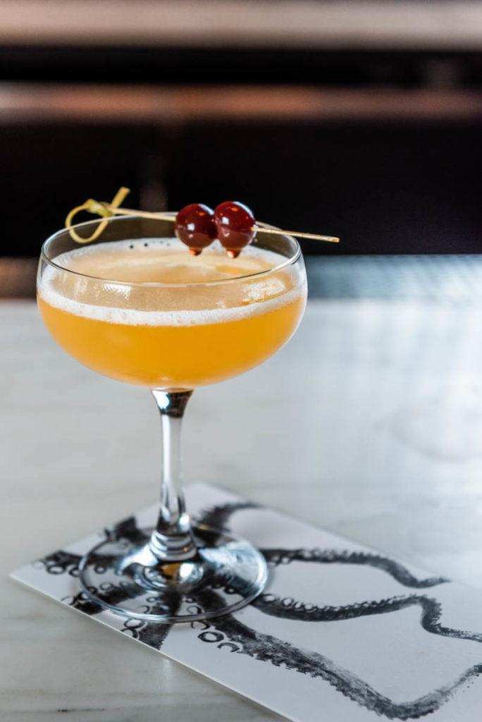"""""""The Devil Wears Manzana"""" cocktail from the menu at Boqueria. Photo courtesy of Boqueria."""