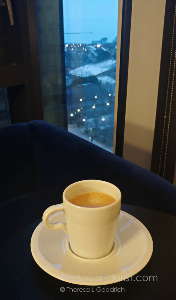 Nespresso with a view at Hotel Julian