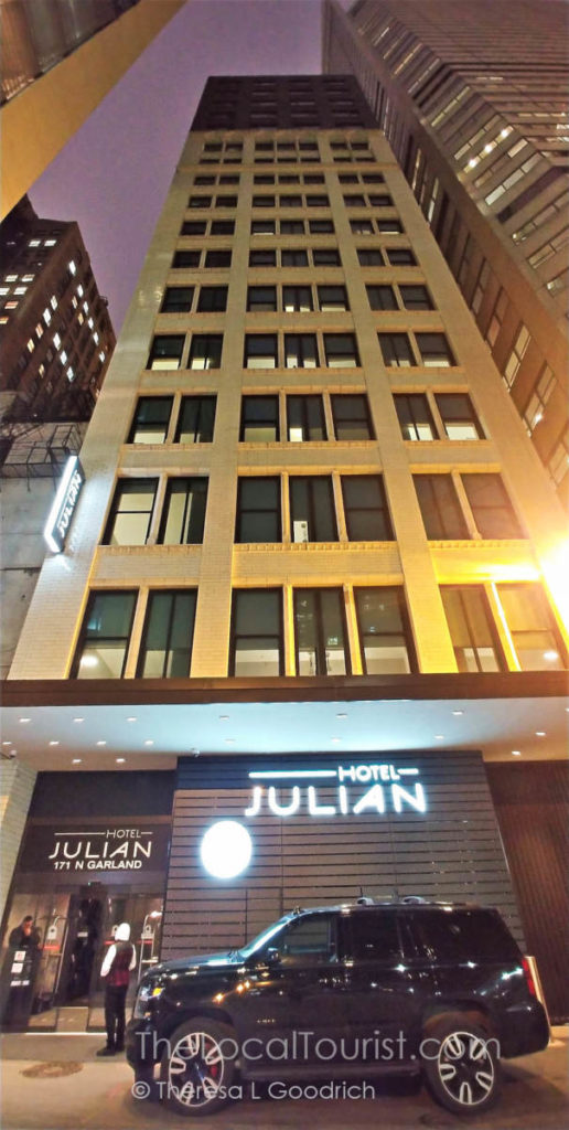 Hotel Julian from Garland Court