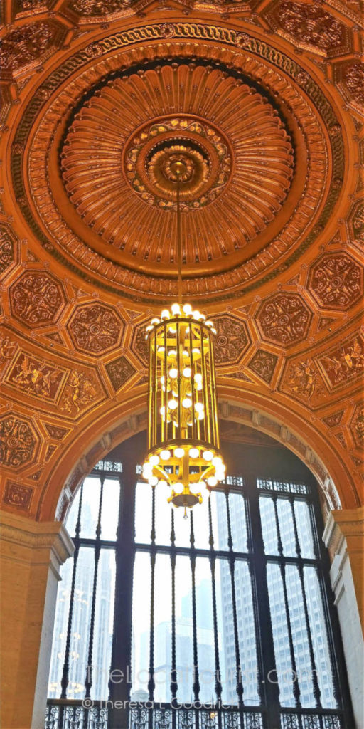 Ornate rotunda inside LondonHouse