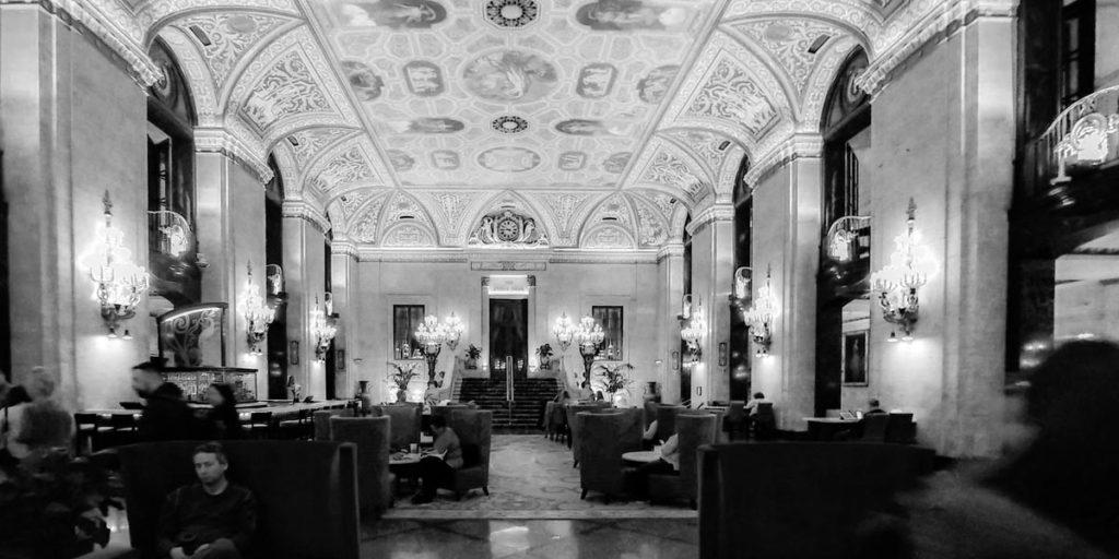 Lobby of the Palmer House Hilton