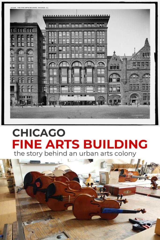 Chicago's Fine Arts Building has been a crucible of creativity and social good. Learn the story of this carriage company showroom turned arts colony.