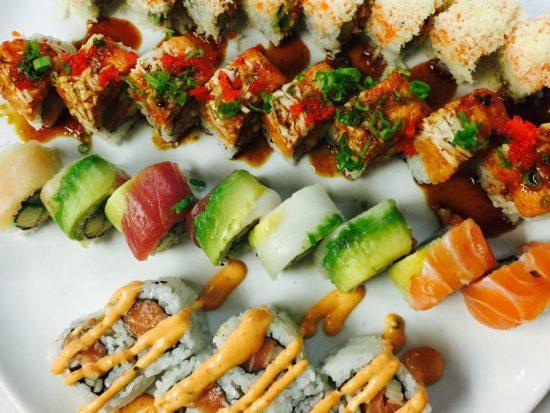 Sushi from Koi Fine Asian in Evanston