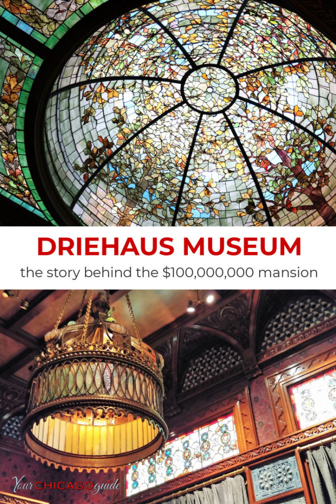 Learn the story behind the Driehaus Museum. Built in 1883, it's one of the Gold Coast's most impressive - and expensive - landmarks. #LivingLandmarks #GoldCoastMasnion #ChicagoHistory #USA #Midwest