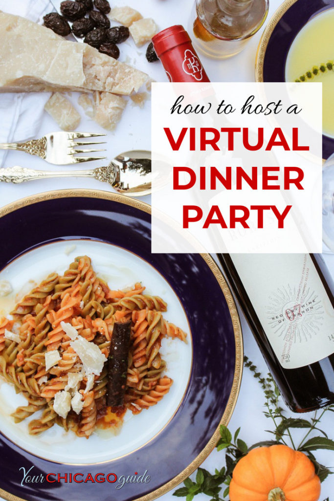 Miss dining out with your friends? Here's how to host a virtual dinner party tips on how to make it a success, including a downloadable checklist.