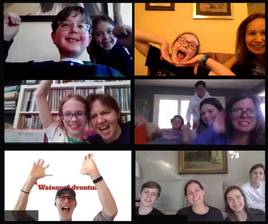Watson Adventures' Virtual Trivia Slam Game for Families 1