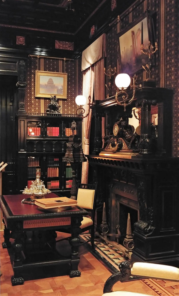 Library in the Nickerson Mansion