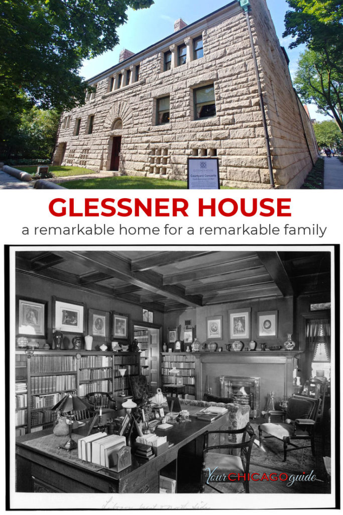 The Glessner House Museum is a remarkable building constructed by Henry Hobson Richardson in Chicago. Located in the Prairie District in the South Loop, it's an architectural treasure.