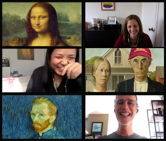 New! Watson Adventures' Murder at the Art Museum Virtual Scavenger Hunt 1