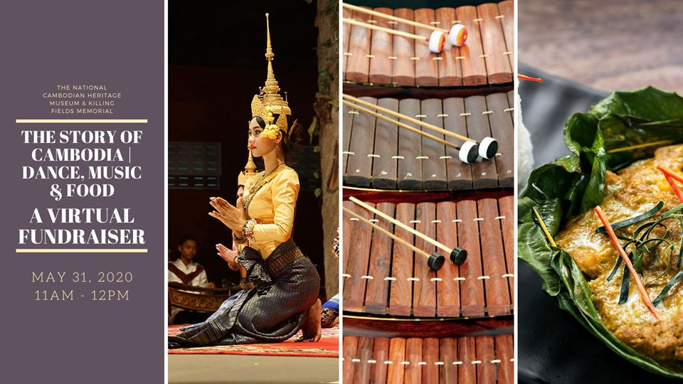 The Story of Cambodia | Dance, Music and Food - A Virtual Fundraiser Series 1