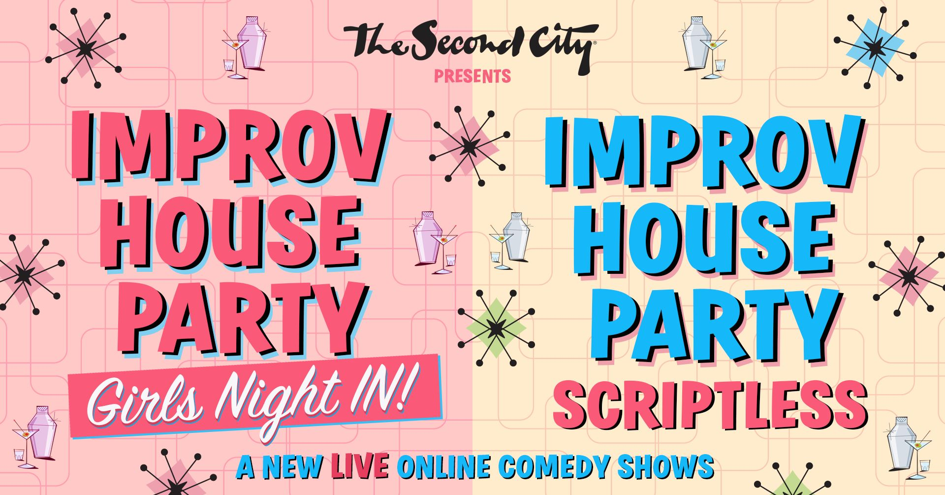 Second City's Improv House Party 1