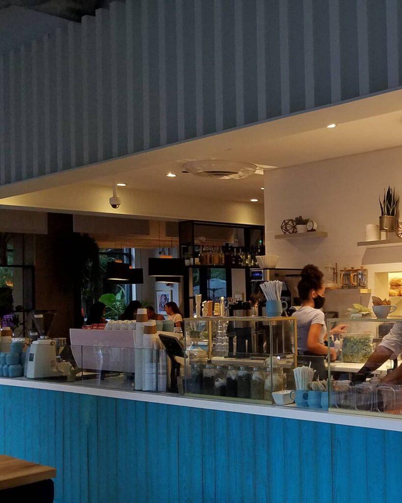 Inside Edie's Cafe. (Photo by Gourmet Rambler)
