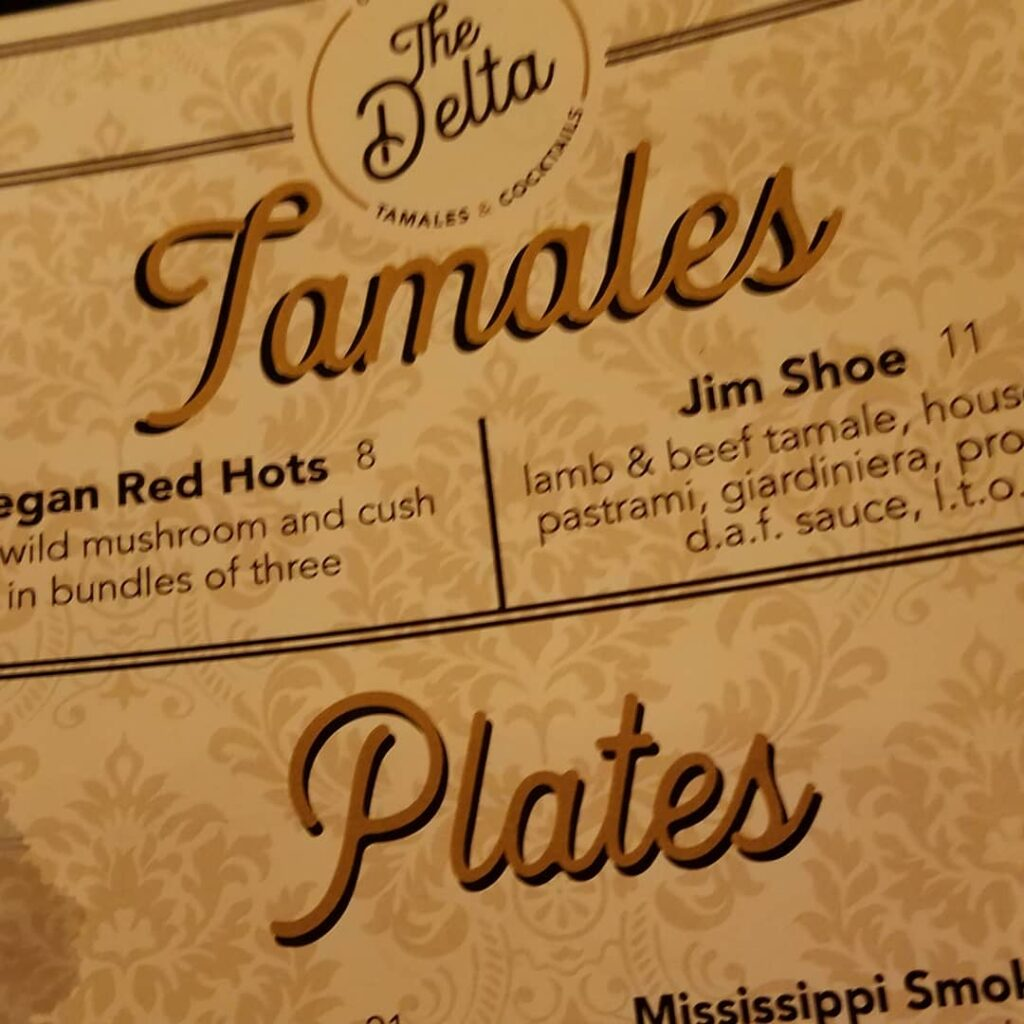 Welcome to The Delta for tamales and cocktails! (Photo by Gourmet Rambler)