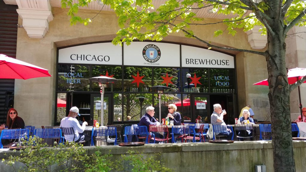 Chicago Brewhouse on the Chicago Riverwalk
