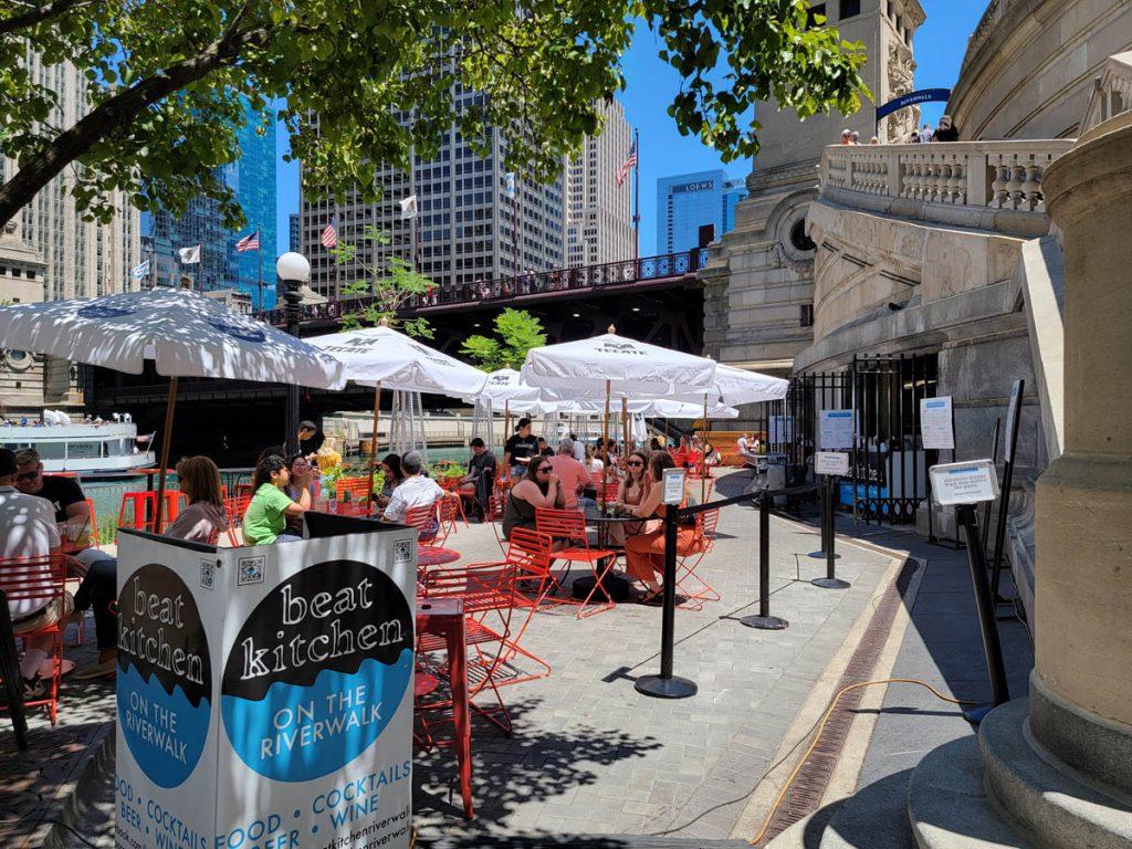 Beat Kitchen on the Chicago Riverwalk