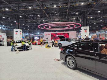 Toyota Exhibit at the Chicago Auto Show