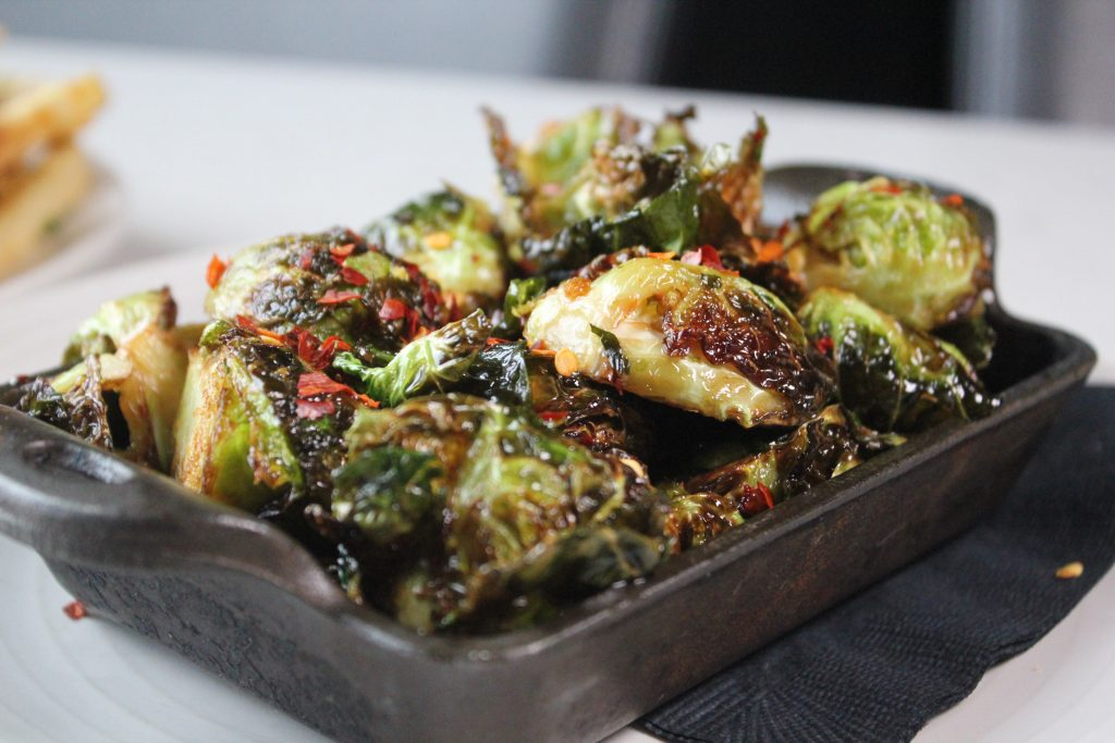 Crispy Brussels Sprouts at the J. Parker