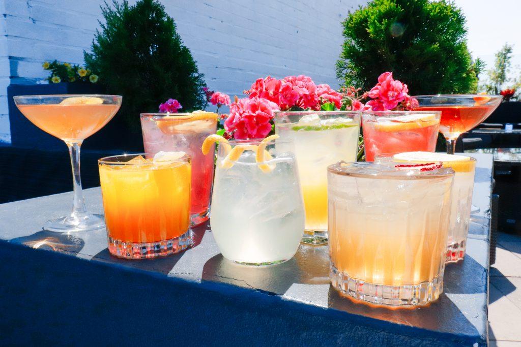 Craft cocktails at the J. Parker
